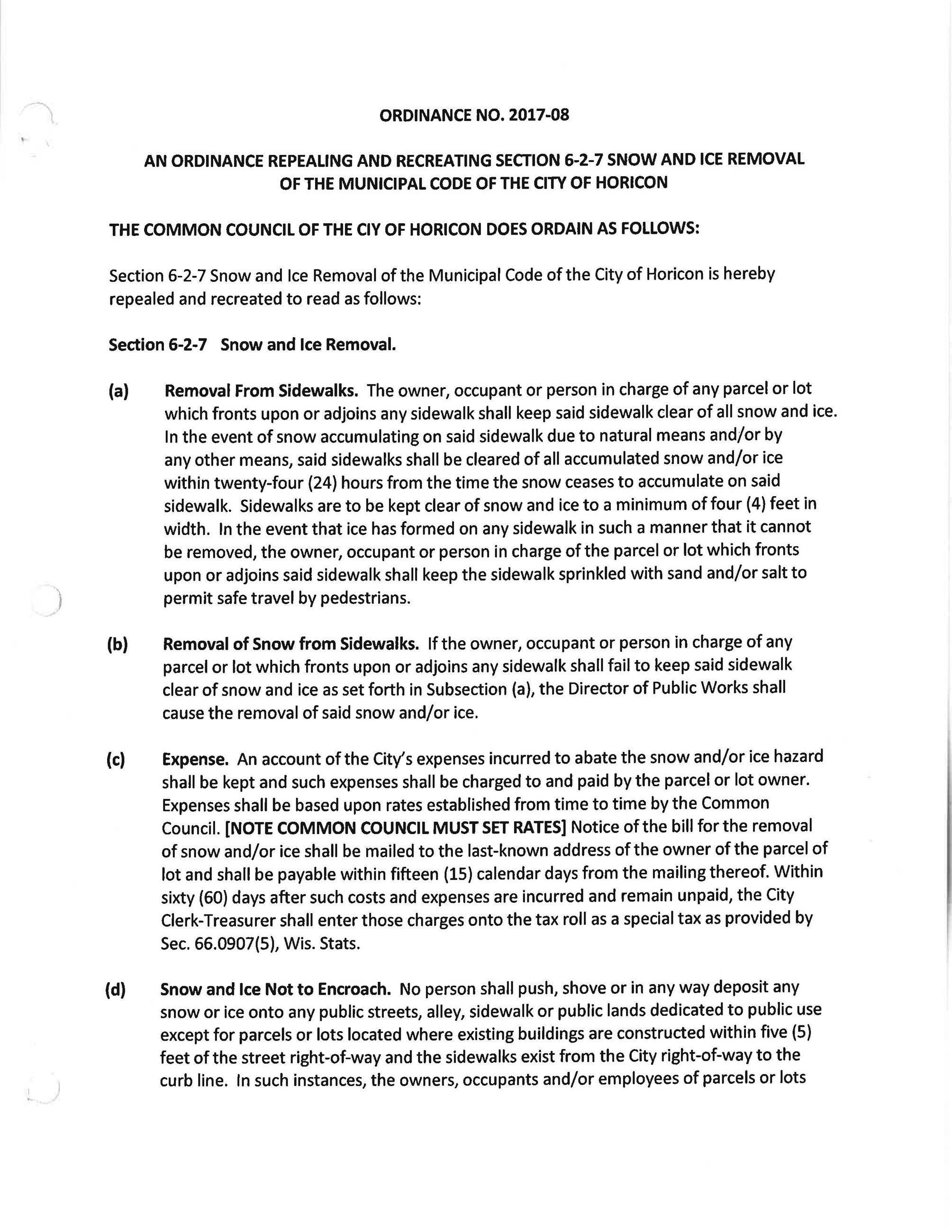 Snow_Ice Removal_Ordinance 2017-08_Page_1